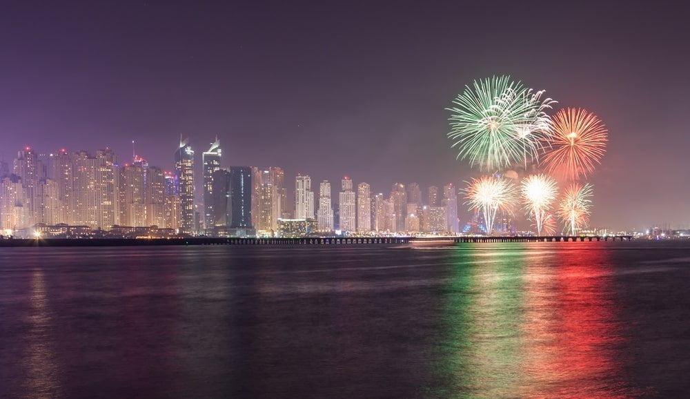 UAE National Day Firework