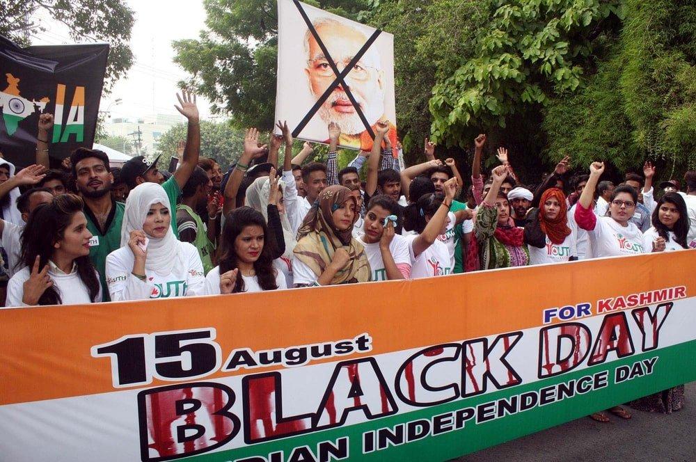 Kashmir Black Day 15 August Pakistan
